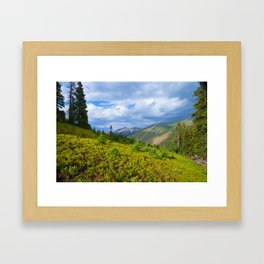 High Country Rainbow Framed Art Print