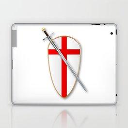 Crusaders Shield and Sword Laptop & iPad Skin