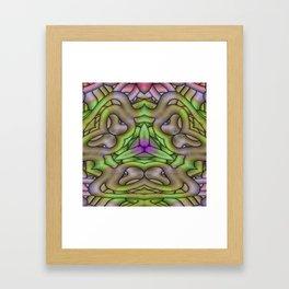 Hostility Framed Art Print