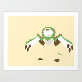 Chesnaught Art Print