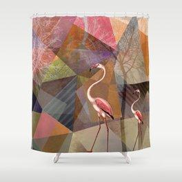 FLAMINGOS P23-C Shower Curtain