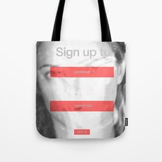 SOCIAL NETWORK Tote Bag