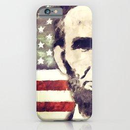 Patriot President Abraham Lincoln iPhone Case