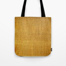Burlap texture look Tote Bag