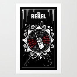 The Rebel - Tall Art Print