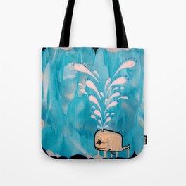 Swim With Me Tote Bag
