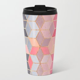 Happy Cubes Travel Mug