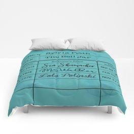 SYLViA PLATH (1963) Comforters