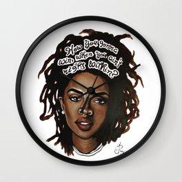 Lauryn Hill Wall Clock