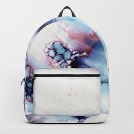 Alien Repose Bubble Storm Abstract Backpack