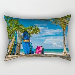 Kuta beach in Bali Rectangular Pillow