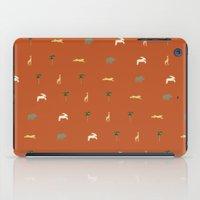 safari iPad Cases featuring Safari by FunnyFaceArt