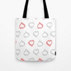 Hearts II Tote Bag