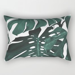 Monstera Rectangular Pillow