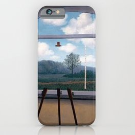 The Human Condition - Rene Magritte iPhone Case