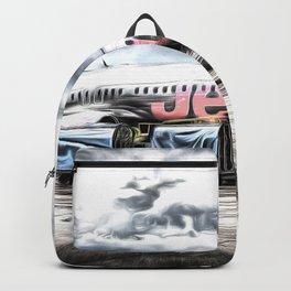 Boeing 737 Art Backpack