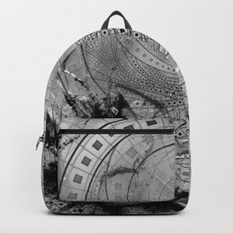 Fragmented Fractal Memories and Shattered Glass Backpack