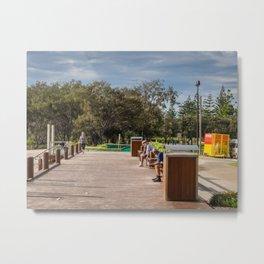 Broadbeach Boardwalk Metal Print