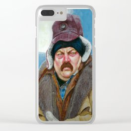 I know what I'm about, son Clear iPhone Case