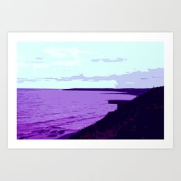New Victoria Shores Art Print