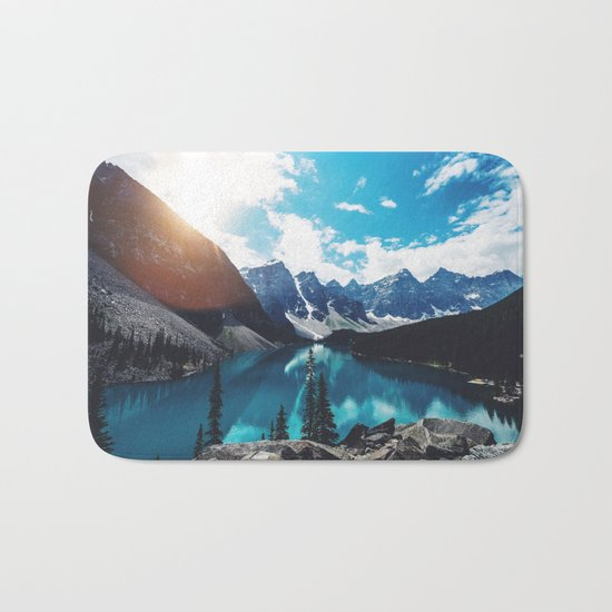 Lake Moraine Bath Mat