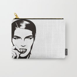 In Black & White III Carry-All Pouch