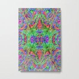 Ridged Patterns 3 B Metal Print
