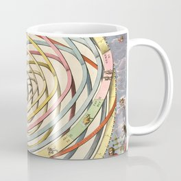 Harmonia Macrocosmica Planetary Orbits Coffee Mug