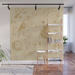 Nature pattern Wall Mural