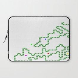 R Experiment 7 (Xmas snake tree) Laptop Sleeve
