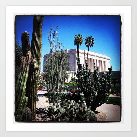 Mesa AZ Temple Art Print