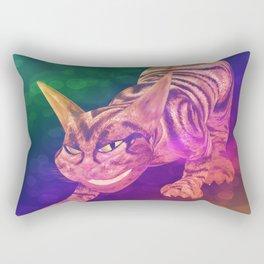 chesire cat Rectangular Pillow