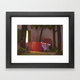 A Forest Grew Framed Art Print