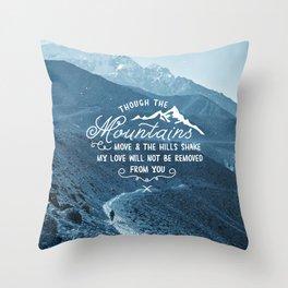 NOT SHAKEN Throw Pillow