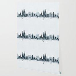 Barcelona Skyline Wallpaper