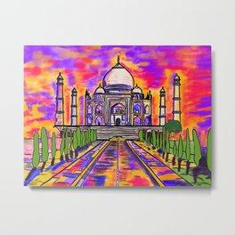 Wah Taj ! Metal Print