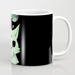 There is life in space, meouw Coffee Mug