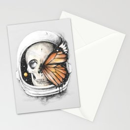 A Strange Existence of an Ending (A Space for a Beginning) Stationery Cards