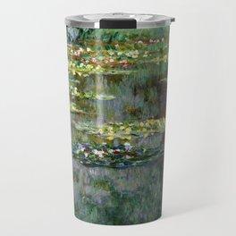 Claude Monet Le Bassin des Nympheas Travel Mug