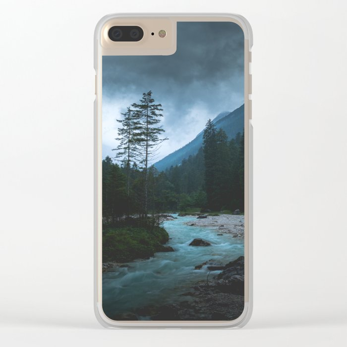 Landscape Mood #creek Clear iPhone Case