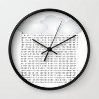 matrix Wall Clocks featuring Matrix by Cs025