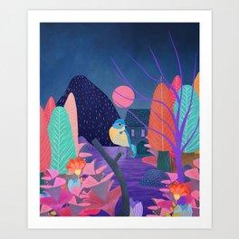 Mystery Garden VI Art Print