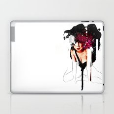 Ringu Woman Illustration in Mixed Digital Media Laptop & iPad Skin