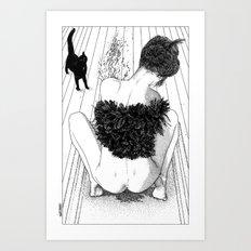 asc 631 - Le marquage du territoire (Liquid joy) Art Print