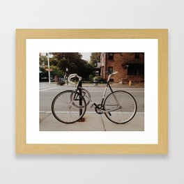 Pista Framed Art Print