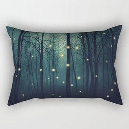 Enchanted Trees Rectangular Pillow