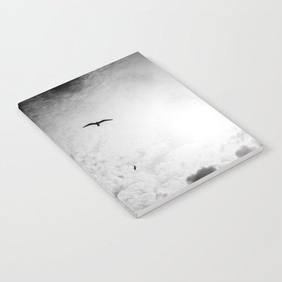 Black bird sky Notebook
