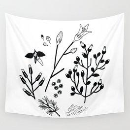 Spring Sprig Wall Tapestry