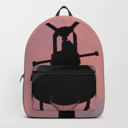 peach street light Backpack