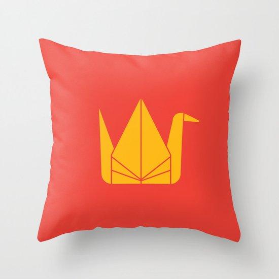 Japan Origami Throw Pillow